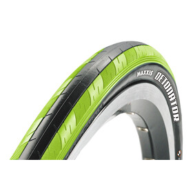"Maxxis Detonator Bike Tire 28"", Dual, foldable green/black"